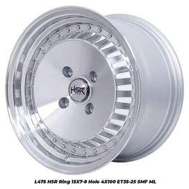 Cocok Untuk Mobil Brio Vios Ignis SASEBO R15X7/8 H4x100 ET35/25