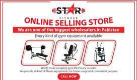 STAR FITNESS HOME GYM Equipment's