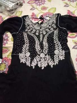 Beautiful black Indian maxi good condition