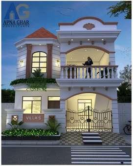 Duplex house in Ujjwal Vihar premium Construction