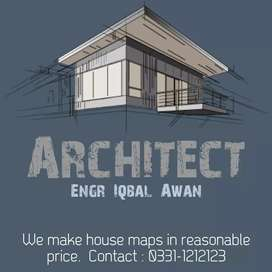 Contact for house maps designs