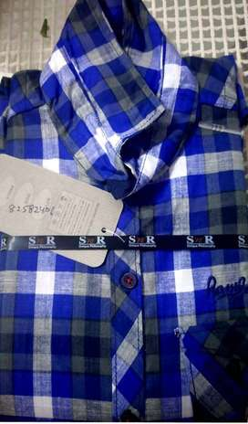 50 pieces left readymade shirts for boys - karnal