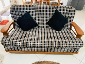 3 pcs Teak Sofa Set