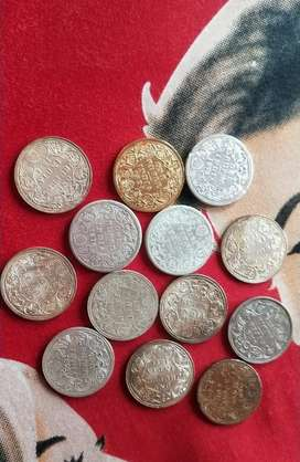 Old coins from 17th and 18tg century