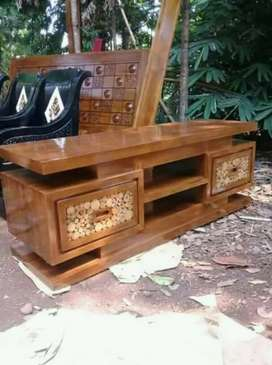 cuci gudang ready bufet meja tv tanpa dp cod free ongkir yuni
