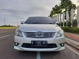 Toyota Kijang Innova G AT 2012 Silver Metalik