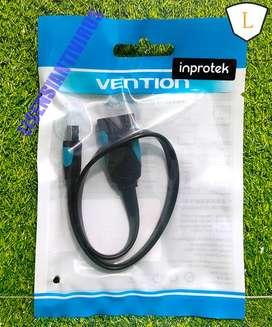 Vention A19 Kabel OTG Mini USB 2.0 Male to Female Flat