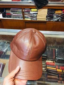 Leather Cap Pure Fresh Leather