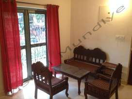 Fully furnished 1 BHK for sale in Calangute, Goa
