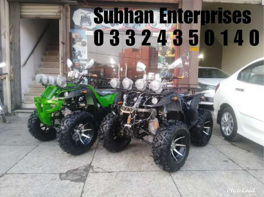 Brand New 250cc Atv Quad 4 Wheels Bike With New Features 0