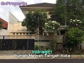 Dijual Rumah Mewah Tengah Kota di Jl. INDRAGIRI Malang