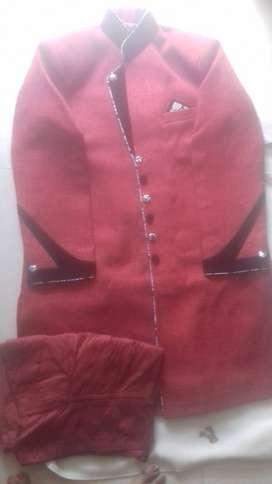 Sherwani Red- XL