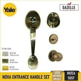 Gagang / handle pintu utama Yale main entrance handle Palembang