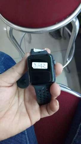 Apple Iwatch 3 42mm Nike ex inter mulus istimewa fulset no minus