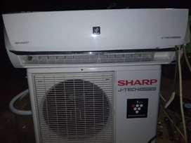 Sharp inverter 1,5pk...ac second rasa baru