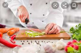 Required indian cook Chiness cook helper