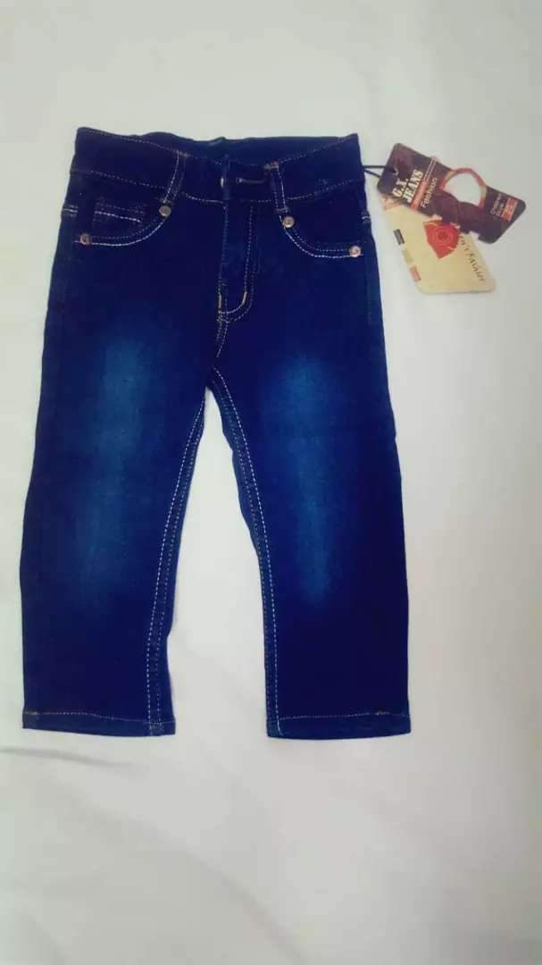 Kids denim jeans 0