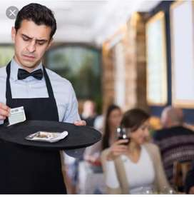 Wanted Waiter / Catering Store Keeper