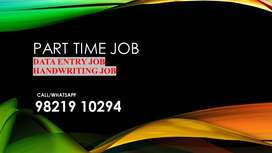 Handwriting and Typing work /part time job/work from home