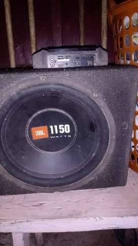 JBL Subwoofer and thermoelectric cooler for sale