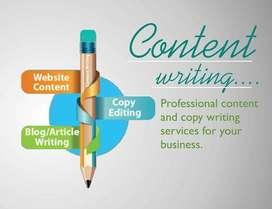 Freelance English Content Writer Needed