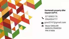 Gwalior mein property lene ke liye Sampark only message kare