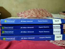 4 Resonance 12 Chemistry guides for JEE