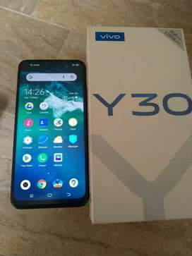Vivo y 30 Storeg 4/128 .  10/10 candistion h prices final h