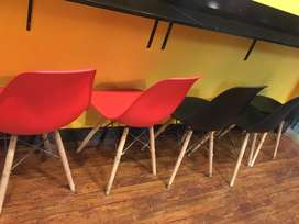 Imported table chairs