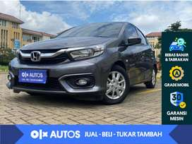 [OLX Autos] Honda Brio 1.2 E Satya A/T 2018 Abu - Abu