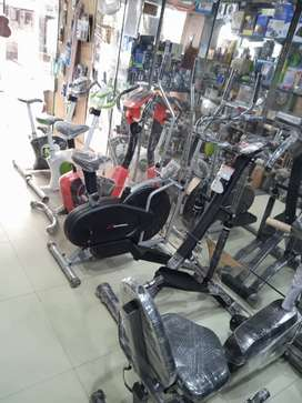 Treadmill, Ellipticals, Cycles and All Gym Equipments under one Roof