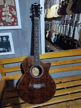 Hari sabtu nak meli gitar akustik tanam besi baru ksnila