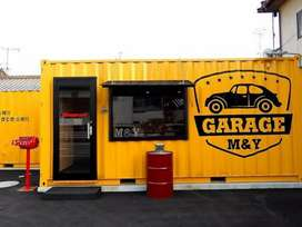 FOOD TRUCK/BOX/CONTAINER TRUCK/BOOTH SEMI CONTAINER