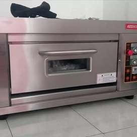Jual oven gas roti 1 deck 1 tray gomesin garansi resmi