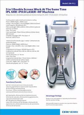 IPL multifunctional SSR SHR hair removal machines