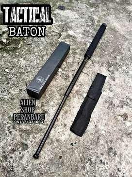 Baton stick MUSA BLACK besi padu