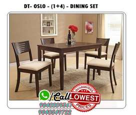 Dealer Wooden / Glass Dining Table and Dining set 4 / 6 Chairs Seater