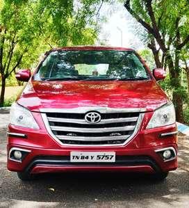 Toyota Innova 2.5 V 8 STR, 2015, Diesel
