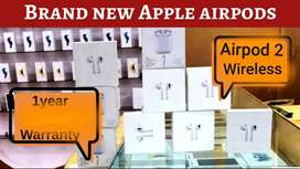 New Orignal Apple Airpod 2 wireless 57% discount with bill, 1yr warnty