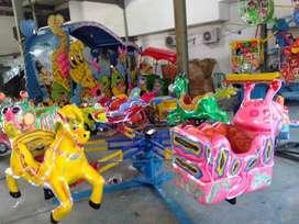 komedi putar lantai animal odong wahana pasar malam BARU 11
