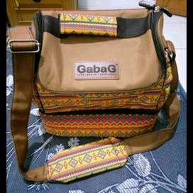 GABAG CooLer Bag motif etnik