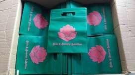 Jasa Sablon Tas Spunbon Paperbag Plastik Kaos Payung di Surakarta Solo