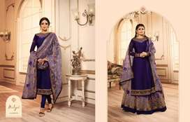 Pakistani delightful embroidered  suits for women's
