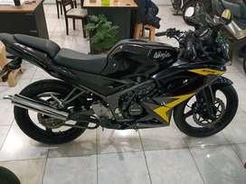 Ninja RR Hitam Tahun 2014 Km 8000 Dp 5Jt