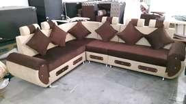 Corner sofa set 6 sitter