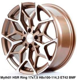 velg mantap MYTH01 HSR R17X75 H8X100-114,3 ET42 BRZ