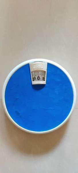 Weighing scale, fitness brand. Rarely used.
