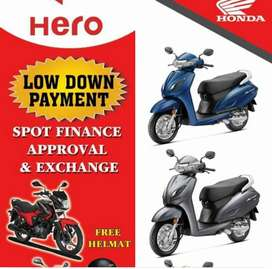 12500/- low down payment on activa 6g STD