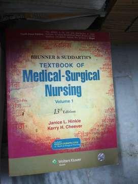 Textbook of medical surgical nursing volume 1