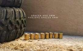Spacer Hex 5mm untuk Rc MN/Wpl/Jjrc